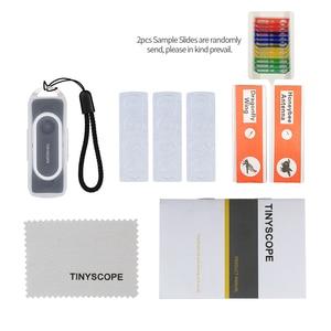 Image 5 - Tinscope 20X 400X 현미경 ios에 대 한 안 드 로이드에 대 한 보편적 인 휴대용 휴대 전화 현미경 돋보기 확대 렌즈