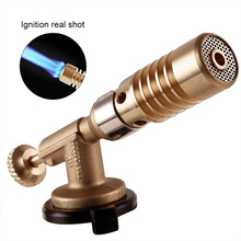 Portable Welding Torch Gas Flame Gun Nozzle High Temperature Propane Plumbing Heating Adapter Outdoor Camping BBQ Cooking Tools