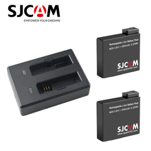 2 szt. SJCAM M20 bateria + podwójna ładowarka do kamery SJ M20 kamera sportowa akcesoria oryginalna bateria marki SJCAM