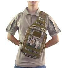 Travel Hiking Trekking Bag Outdoor Sports Bag Shoulder Military Tactical Bags chest rucksack цена