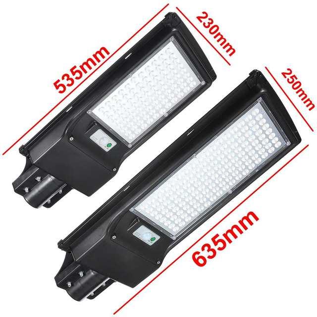 100W/200W LED Outdoor Lighting Wall Lamp Solar Street Light IP67 Solar Powered Remote Radar Motion Light Control for Garden Yard 6