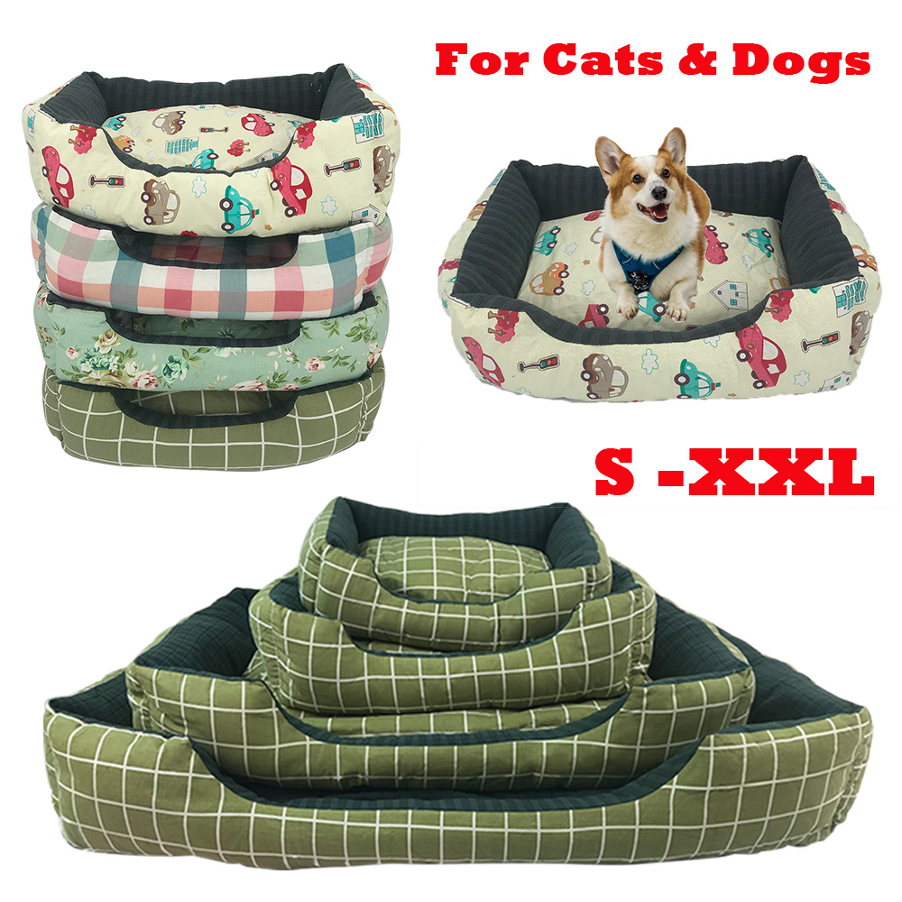 Dog Kennel Square Dogs Bed for Large Dogs font b Pet b font Counch Removable font