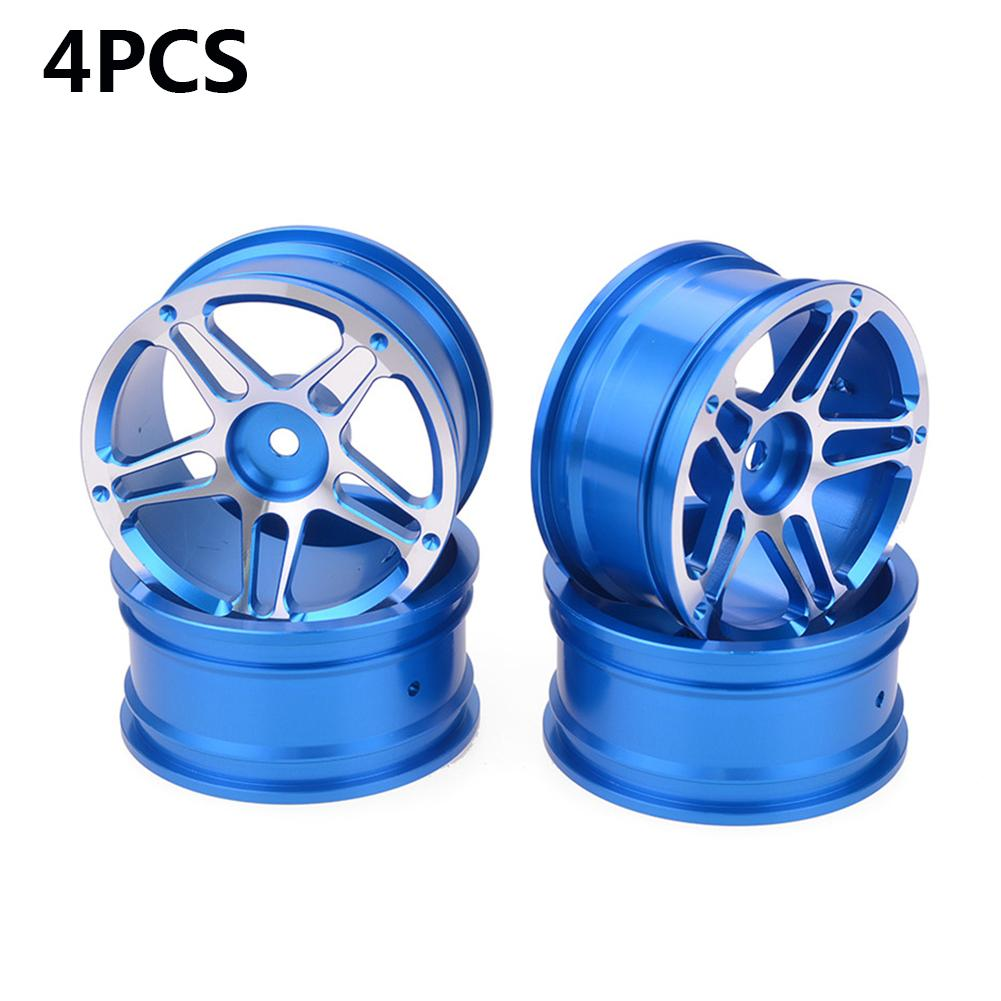 >4PCS Aluminium Alloy 1.9inch Wheel Hubs Diameter 52mm For 1/10 RC Drift Car Tourning Car Crawler Truck Axial SCX10 Traxxas TRX4