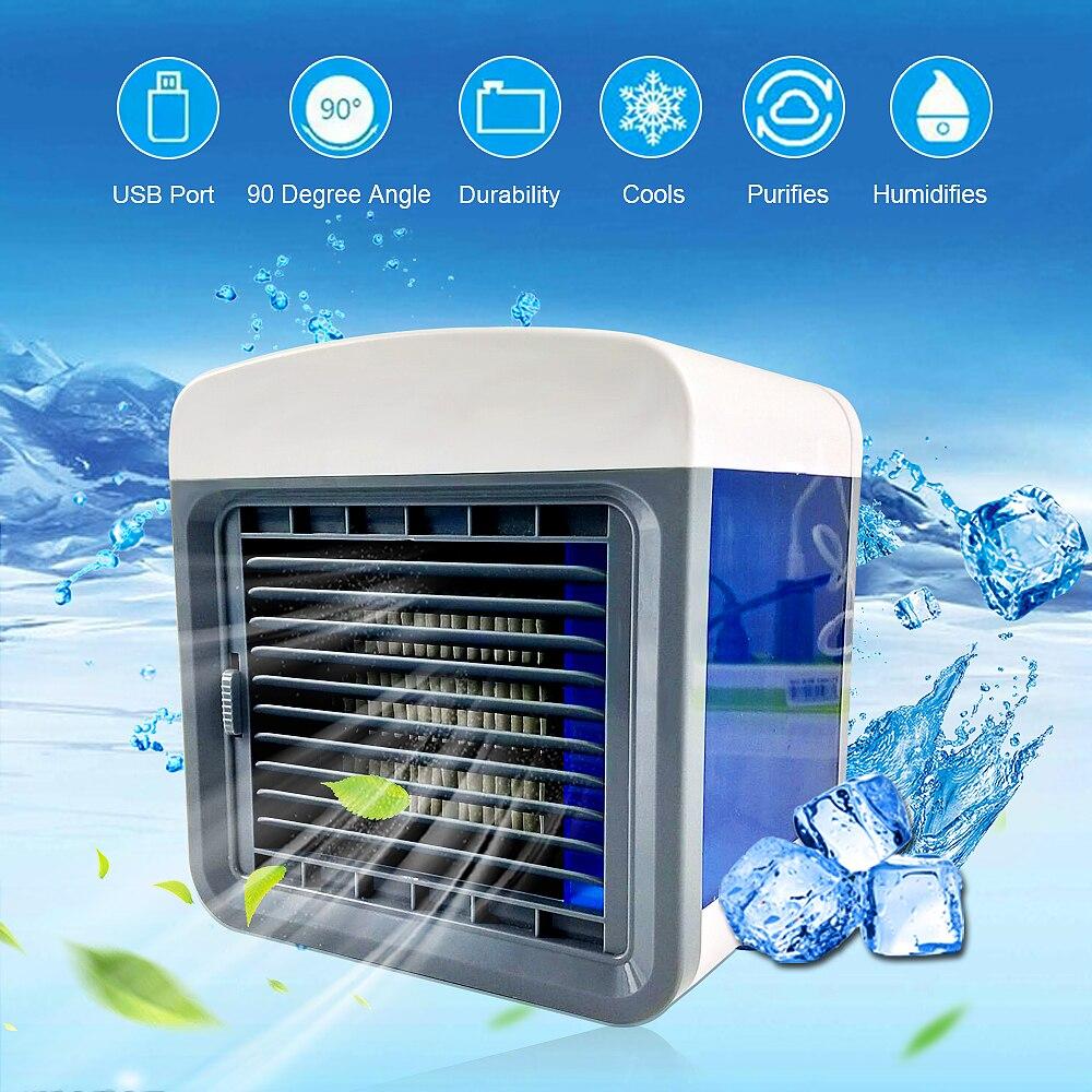 Humidifer Purifier Air Conditioner Mini Home Room Portable Convenient Air Cooling Air Conditioning Usb Desktop Air Cooler Fan