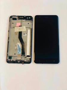 Image 4 - Orijinal test Asus ZenFone 3 Zoom için ZE553KL Z01HD LCD ekran dokunmatik ekran Digitizer meclisi için çerçeve ile Asus ZE553KL LCD