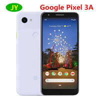 Oryginalny Google Pixel 3A 3a telefonu komórkowego 4G LTE 4GB pamięci RAM 64GB ROM 5.6 cal Snapdragon 670 Octa Core 12.2MP 8MP NFC smartfon