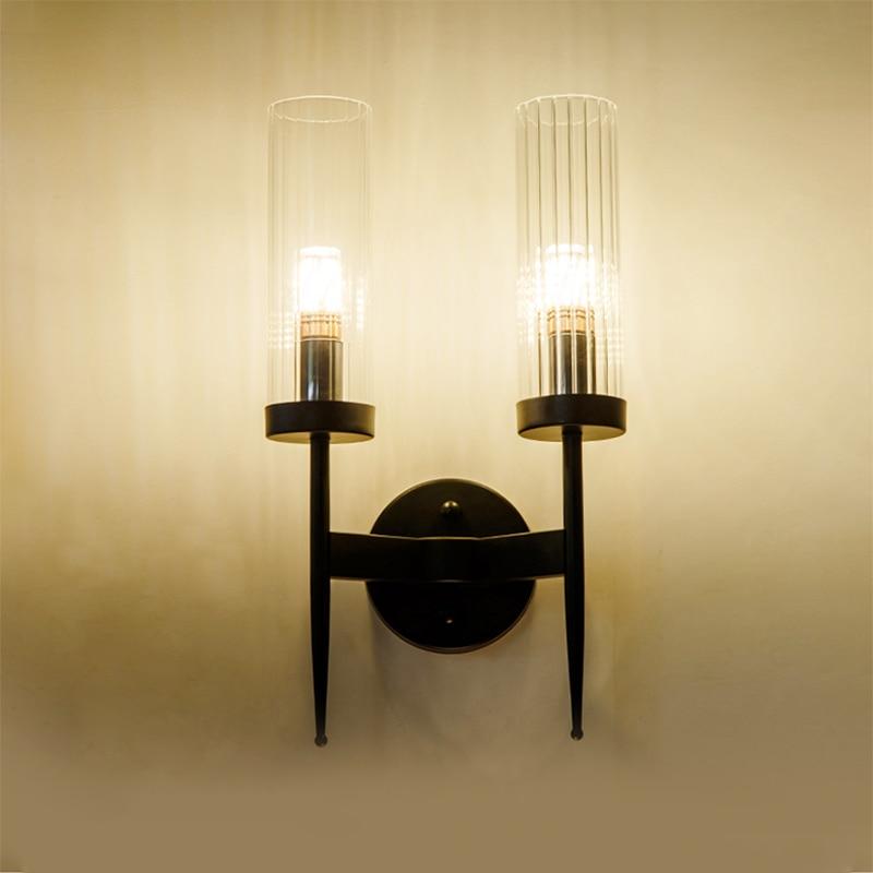 arte deco moderno luzes parede lampada 04