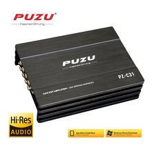 PUZU ISO arnés de cableado de cable de coche DSP amplificador 4X150W apoyo PC 31 EQ APP de android bluetooth sin pérdida de música USB