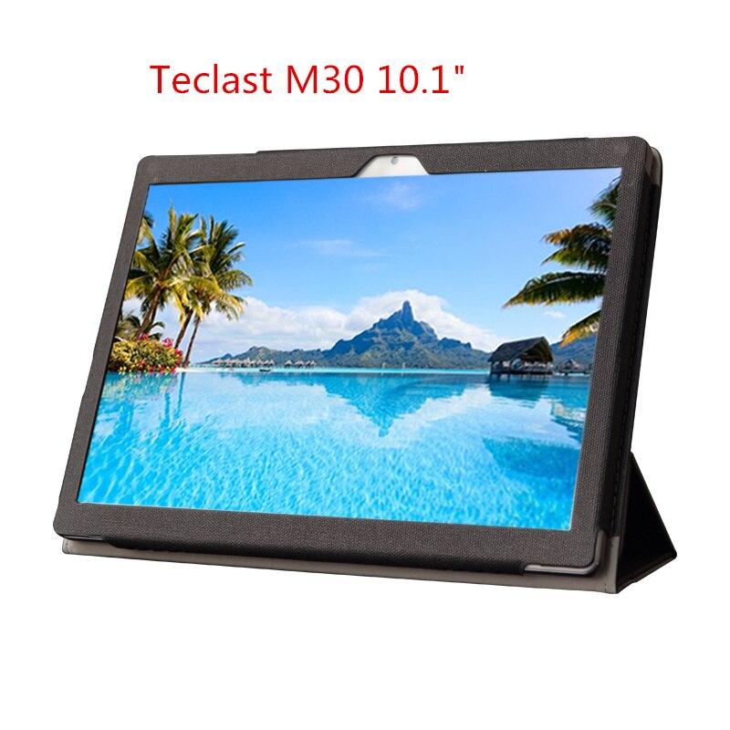 Teclast-Funda de cuero original para tableta Pc M30 pro10.1 pulgadas