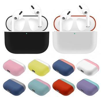 Protective Earphone Case For Airpods Pro Case Apple Silicone Case Headphones Cases For apple airpods pro case