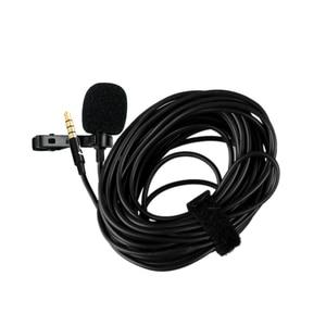 Image 4 - YC LM20 3,5mm Omni directional Clip auf Lavalier mikrofon Mic Kabel Länge 6M für Smartphone Tablet Laptop & camcorder DV DSLR