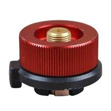 Открытый горелки длинный газовый бак конверсионная головка круглая конверсионная головка преобразователь горелки линия Красный адаптер самозакрывающийся Тип