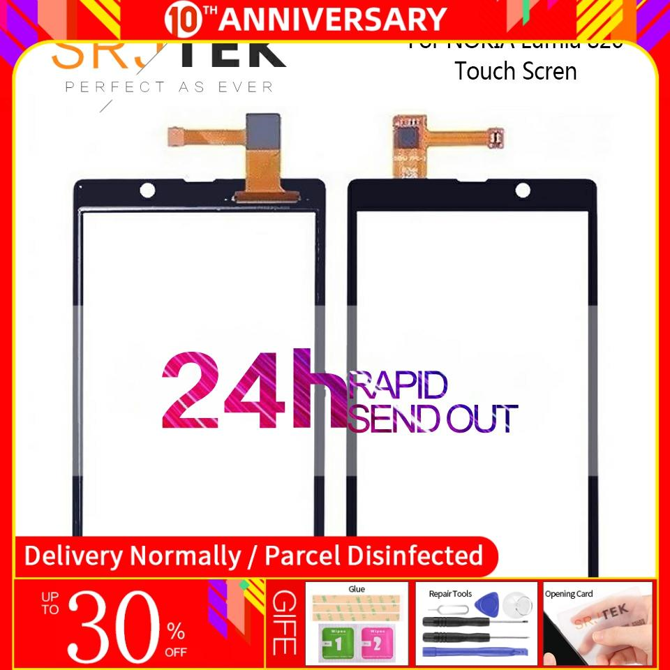 Tested For Nokia <font><b>Lumia</b></font> <font><b>820</b></font> Touch <font><b>Screen</b></font> Digitizer Sensor Front Glass Panel Replacement Parts 4.3
