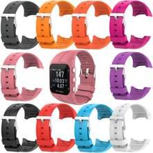 Correa de silicona para Polar M400 M430, repuesto de reloj inteligente deportivo, Color sólido, envío gratis