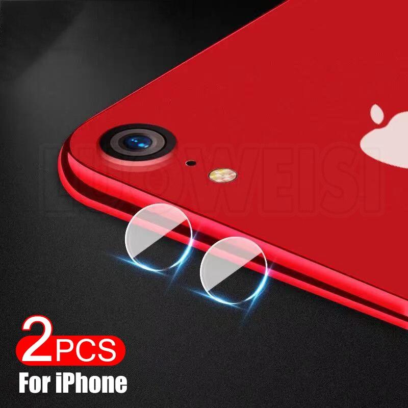 2 шт. Защитная пленка для камеры для iPhone 6s 6 7 8 Plus SE 2020, пленка для объектива на iPhone 11 12 Pro Max X XR XS, защитный стеклянный чехол для камеры