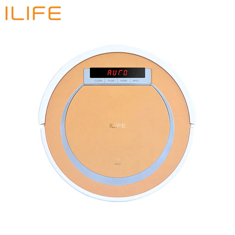 цена на Robot vacuum cleaner ILIFE V55 robot wireless handheld vacuum cleaner cleaning for home New Robot Vacuum Cleaner iLife A40 for H