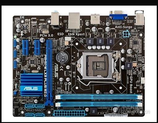 Desktop Mainboard I3 Lga 1155 Asus p8h61-M BIOS H61-Socket DDR3 R2.0 I7 ATX Lx3-Plus