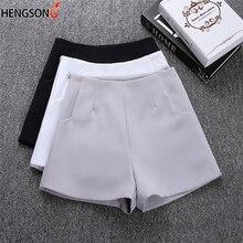 Летние женские спортивные шорты новые женские теннисные шорты с карманами на молнии однотонные спортивные шорты с высокой талией
