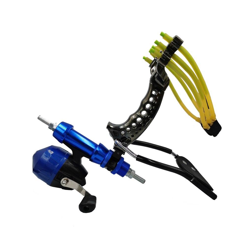 Catapult Powerful Multi-function Slingshot Shooting Fishing Catapult ArrowBow Fishing Catch Hunting Takeaim Sight 9mm Steel Ball