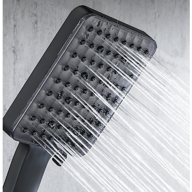 Piano Digital Bathroom Shower Set SDSN 12 Inch Rainfall Shower Head Solid Brass Bathroom Faucets Matte Piano Digital Bathroom Shower Set SDSN 12 Inch Rainfall Shower Head Solid Brass Bathroom Faucets Matte Black Thermostatic Shower