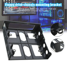 3.5 Inch to 5.25 Inch Bracket Optical Drive Position to Soft Drive Position Bracket Computer Shell Adapter Mounting Bracket