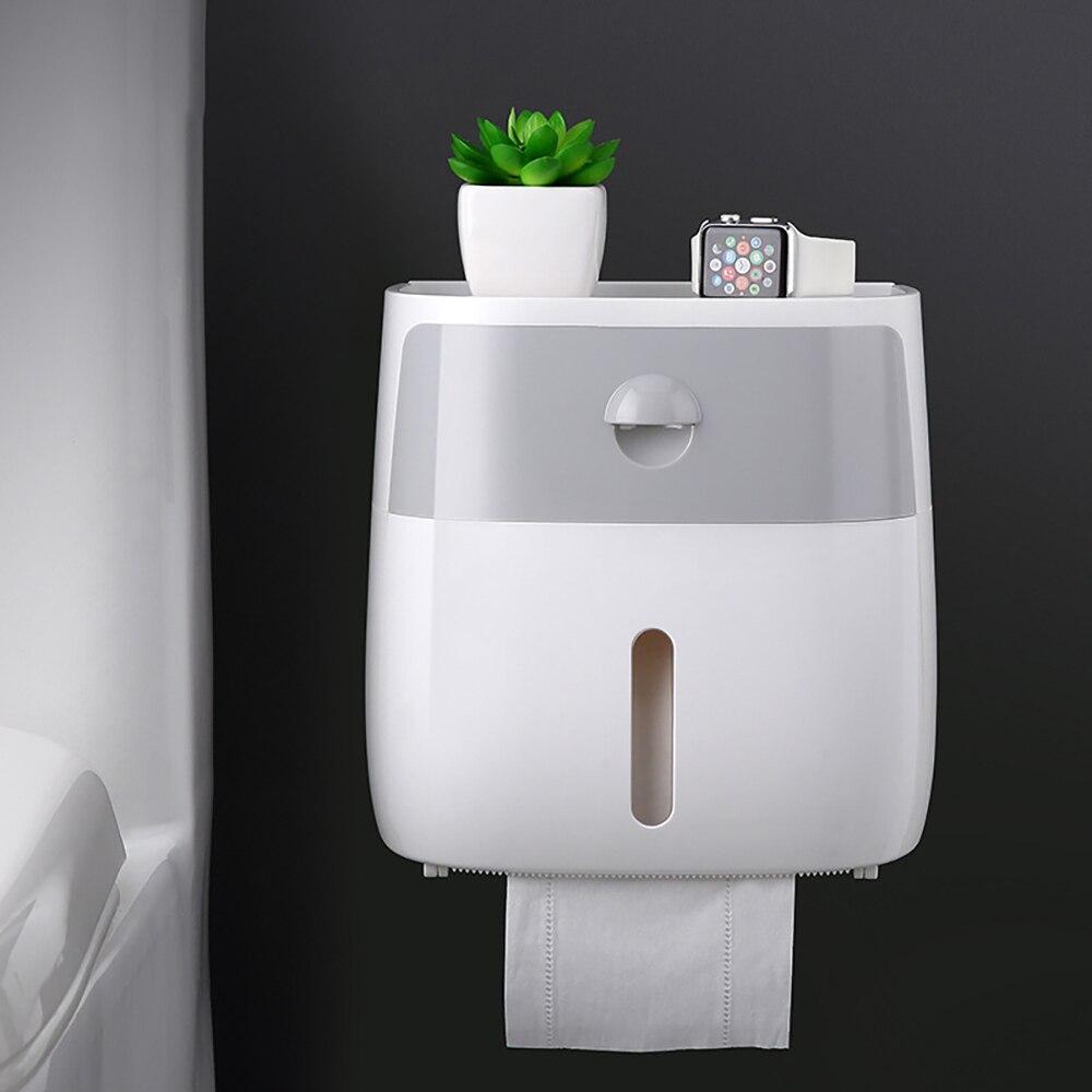 Водонепроницаемый настенный держатель для туалетной бумаги, полка для туалетной бумаги, лоток для туалетной бумаги, рулон бумаги, коробка для хранения трубок, креативный поднос, коробка для салфеток для дома Держатели бумаги      АлиЭкспресс