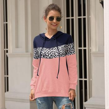 Sassy BB Fall Clothes Pink Grey Long Sleeve Soft Cotton Printed Hoodie for Women Tops Pullover Latest Design