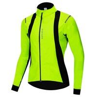 WOSAWE Winter Cycling Jacket Soft shell Coat Thermal Fleece Warm Up Bike Ski Snowboard Jacket Windproof Outdoor Sportswear