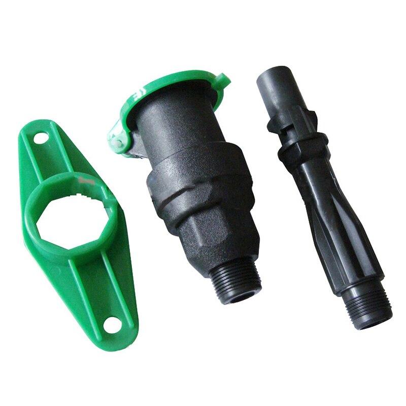1Pcs 3/4 Zoll DN20 Außengewinde Schnelle Wasser Aufnahme Ventil Außerhalb der Draht Wasser Dispenser Wasser Unter Kits 3 teile/Set