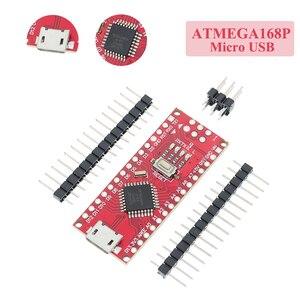 Image 4 - 10PCS 미니 USB/마이크로 USB 나노 3.0 ATMEGA328P/ATMEGA168P ardunio 컨트롤러 호환 나노 CH340 USB 드라이버