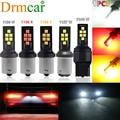 1PCS 1156 1157 7440 P21w 12LED Auto Reserve Lampe Auto Styling Zubehör Bremslicht Blinker Lampen 12V lizenz Platte Lichter