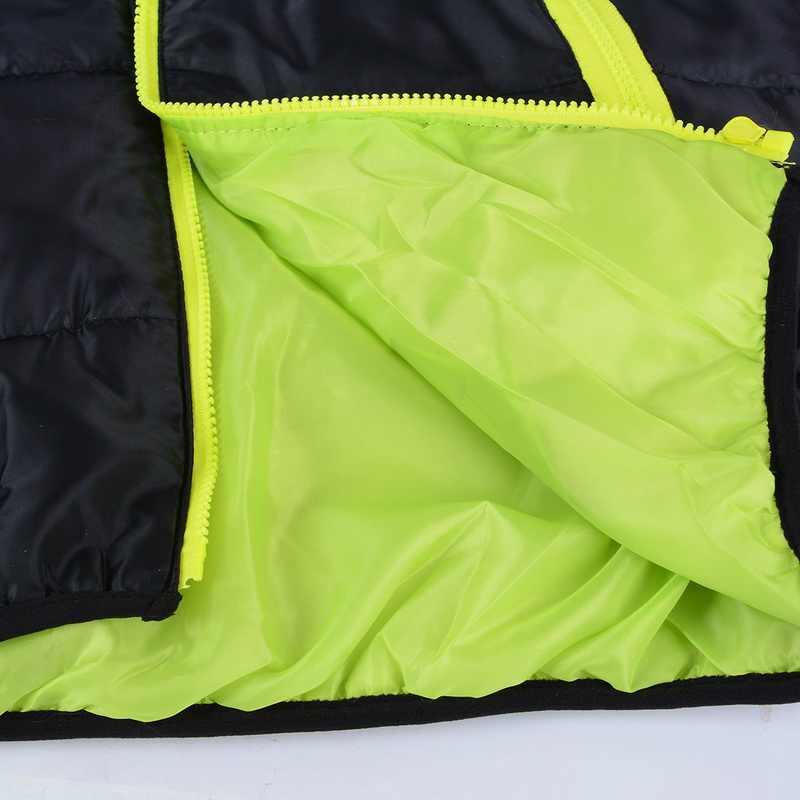 シュージン男性のコートの冬の色ブロックジッパーフード付き入りコートスリムフィットファッション厚み暖かい生き抜くトラックスーツ