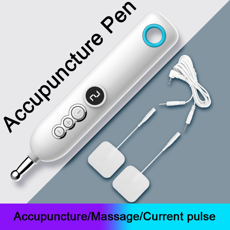 Electric Acupuncture Pen Advanced Pulse Pain Therapy Physiotherapy Massage Pen Multifunction Relieve Fatigue Muscle Stimulation