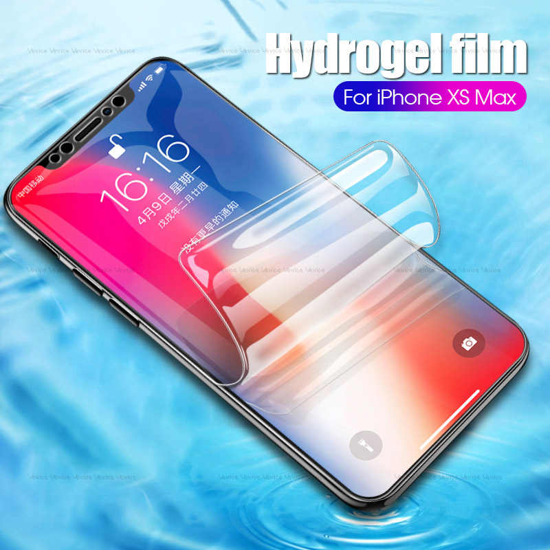 9D Hydrogel Film Voor Iphone 6 S Plus Xsmax Xr Ultradunne Clear Film Voor Iphone Xs Max Xr X 7 8 Plus 6 6 S Screen Bescherming