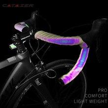 Light Change Reflective Bike Bar Tape Road Bicycle Handlebar