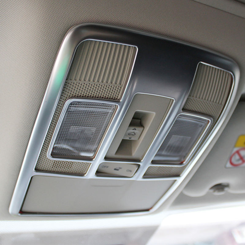 ABS Chrome Car Interior Dome Reading Light Lamp Decoration Trim Frame Covers <font><b>For</b></font> <font><b>MAZDA</b></font> <font><b>CX</b></font>-<font><b>5</b></font> CX5 <font><b>CX</b></font> <font><b>5</b></font> 2017 <font><b>2018</b></font> <font><b>2019</b></font> Accessories image