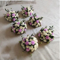 New wedding props, wedding arrangement, T stage, street flower, wedding, street flower ball, photography, Rome flower