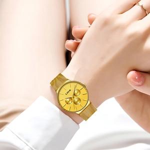 Image 5 - 2020 LIGE قائمة جديدة كاملة الذهب النساء ساعات كوارتز ساعة السيدات العلامة التجارية الفاخرة الإناث ساعة فتاة ساعة Relogio Feminin + صندوق