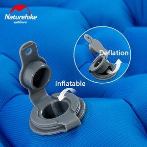 Image 5 - Natureigh tapis de Camping dextérieur ultraléger, Portable et avec oreiller, gonflable Double, sac de couchage résistant à lhumidité