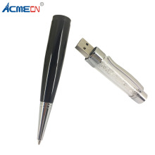ACMECN Crystal Ball Pen with USB Flash Drive Metal Bling Diamond Mixed Color 2 in 1 Multi-function 4G 8G Memory