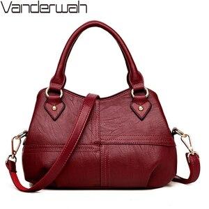 Image 1 - NUOVO Tre sacchetto di Casual tote Filo borse delle donne borse di marche famose del sacchetto di mano femminile per le donne di spalla borse crossbody sac uno dei principali