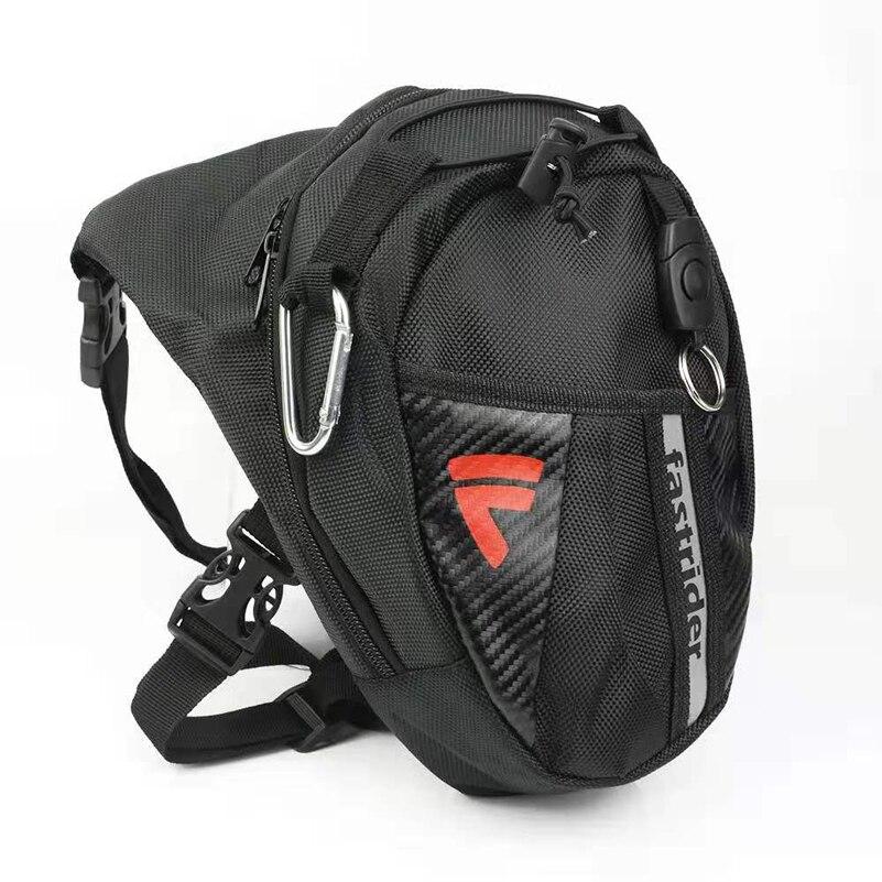 Мужская поясная сумка, водонепроницаемая сумка до бедра, поясная сумка для мотоцикла, универсальная сумка для Suzuki Yamaha