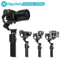 Feiyutech G6 MAX estabilizador cardán de 3 ejes para cámaras sin espejo/Smartphone/ cámaras de acción/cámaras de bolsillo , carga útil máxima 2.65LB