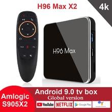 Android 9.0 TV Box H96 Max X2 Amlogic S905X2 4G 32GB 64GB Me