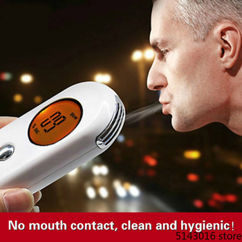2019 Professional Alcohol Breath Tester Breathalyzer Analyzer Detector Test Keychain  Breathalyser Device LCD Screen 2020newest breath alcohol tester high precision professional breathalyzer with lcd screen digital alcohol detector charge by usb