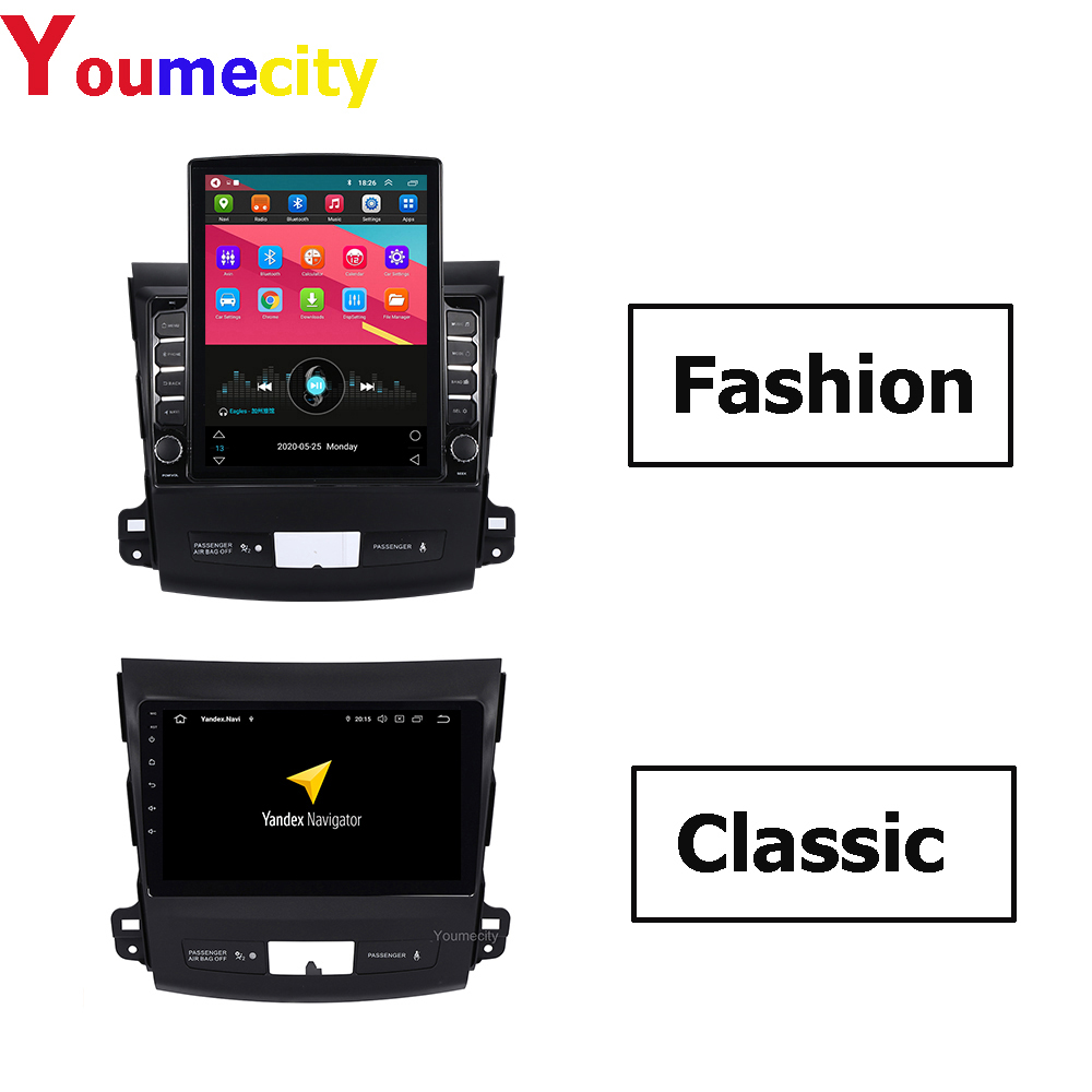 4G RAM/Eight Core/Android Car Multimedia Player For <font><b>Mitsubishi</b></font> <font><b>Outlander</b></font> 2007 <font><b>2008</b></font> 2009 2010 2011 2012 2013 Radio/ New Arrival image