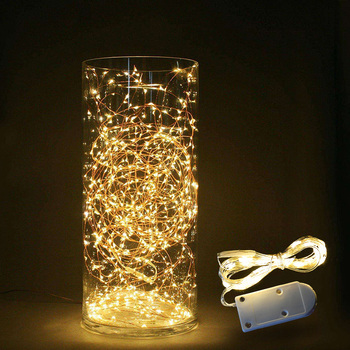 Best Discount C4d46 1 3m Led String Lights Home Diy Fairy Light Christmas Bottle Lights String Party Wedding Decoration Battery Powered Led Garland Cicig Co