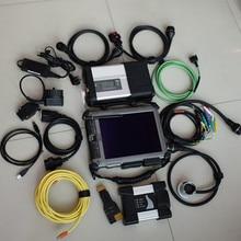 2в1 для bmw для benz диагностический инструмент bmw icom next mb star c5 с программным обеспечением ssd с ix104 планшетный ноутбук прочный ПК