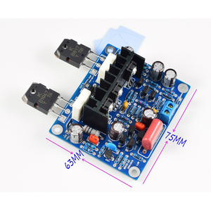 Image 2 - 2pcs HiFi MX50 SE 2.0 dual channel 2x 100W Stereo Power amplifier DIY KIT and finished board