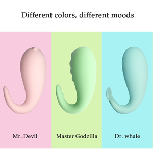 Image 4 - KWD Monster Vibrator APP Bluetooth G spot Massage Silicone USB Charging Wireless Remote Control 8 Frequency Sex Toys for Women